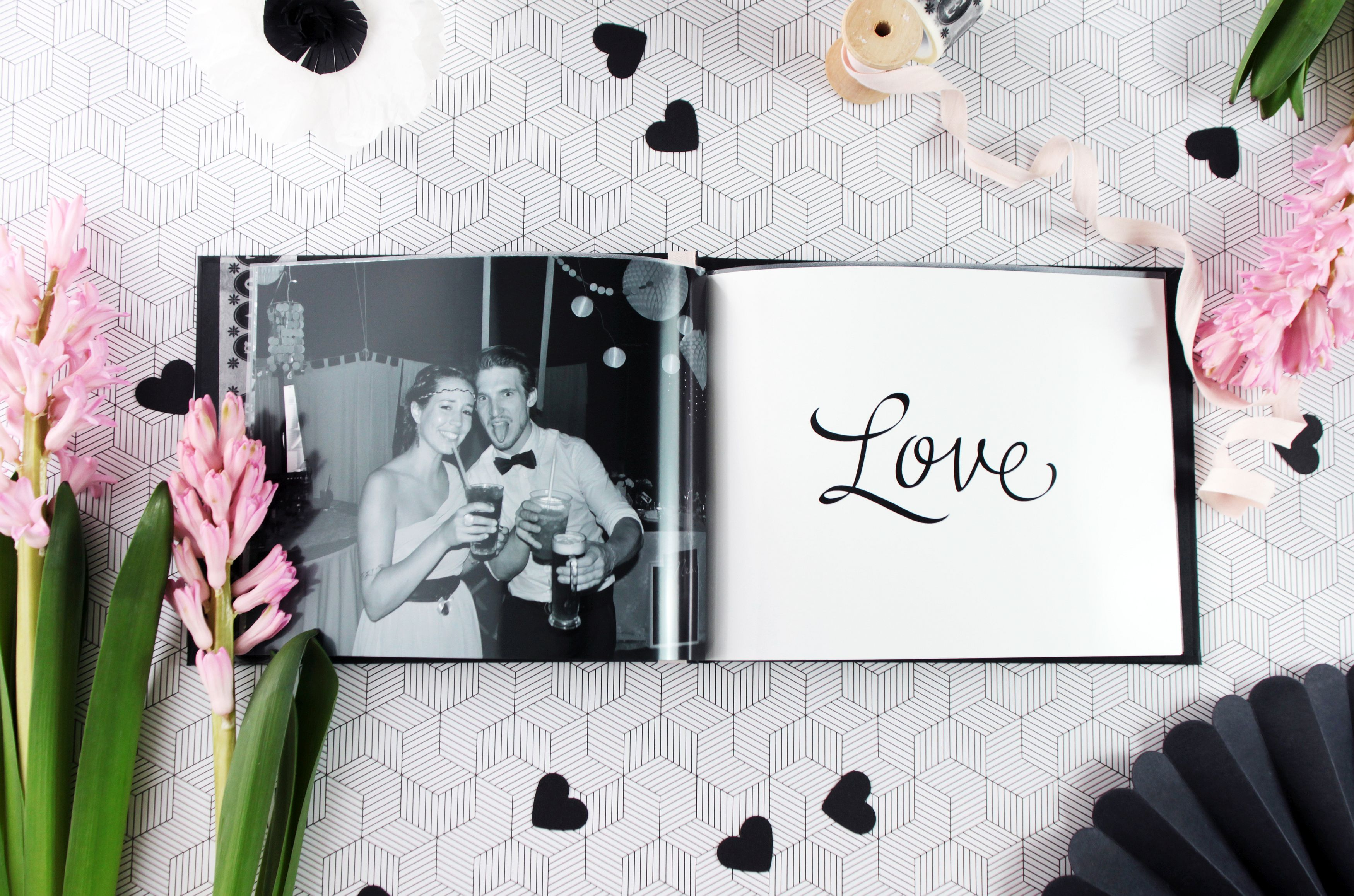 diy geschenk zum valentinstag fotobuch und leporello. Black Bedroom Furniture Sets. Home Design Ideas